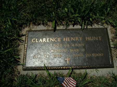 HUNT  (VETERAN WWII), CLARENCE HENRY - Boone County, Arkansas | CLARENCE HENRY HUNT  (VETERAN WWII) - Arkansas Gravestone Photos