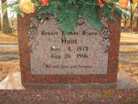 "HUNT, BESSIE ""ESTHER"" - Boone County, Arkansas 