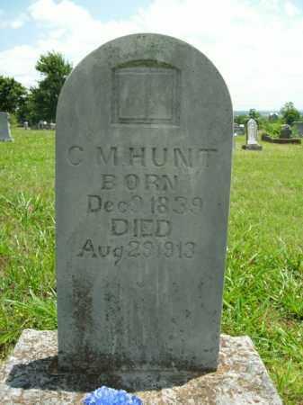 HUNT, CLEMONT MONTGOMERY - Boone County, Arkansas | CLEMONT MONTGOMERY HUNT - Arkansas Gravestone Photos