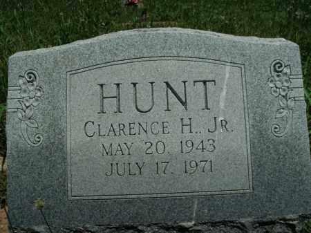 HUNT, JR., CLARENCE H. - Boone County, Arkansas | CLARENCE H. HUNT, JR. - Arkansas Gravestone Photos