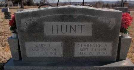HUNT, CLARENCE H. - Boone County, Arkansas | CLARENCE H. HUNT - Arkansas Gravestone Photos