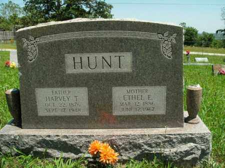 HUNT, HARVEY T. - Boone County, Arkansas | HARVEY T. HUNT - Arkansas Gravestone Photos