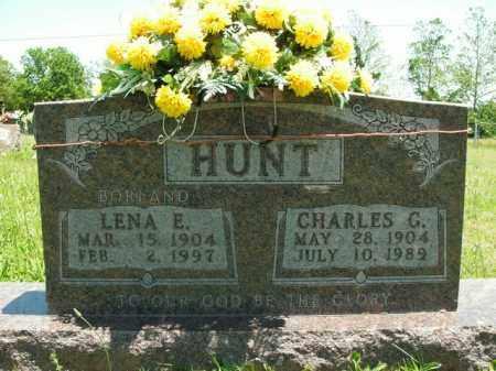 HUNT, LENA E. - Boone County, Arkansas | LENA E. HUNT - Arkansas Gravestone Photos
