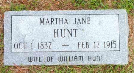 HUNT, MARTHA JANE - Boone County, Arkansas   MARTHA JANE HUNT - Arkansas Gravestone Photos