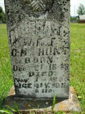 HUNT, MILBRA CATHRINE - Boone County, Arkansas   MILBRA CATHRINE HUNT - Arkansas Gravestone Photos