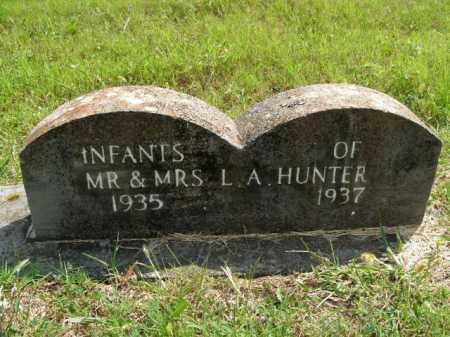 HUNTER, INFANTS - Boone County, Arkansas | INFANTS HUNTER - Arkansas Gravestone Photos