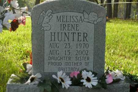 HUNTER, MELISSA IRENE - Boone County, Arkansas | MELISSA IRENE HUNTER - Arkansas Gravestone Photos