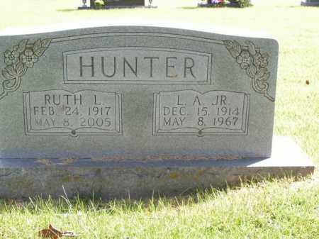 HUNTER, L.A. JR. - Boone County, Arkansas | L.A. JR. HUNTER - Arkansas Gravestone Photos
