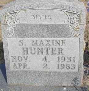 HUNTER, SYLVIA MAXINE - Boone County, Arkansas   SYLVIA MAXINE HUNTER - Arkansas Gravestone Photos