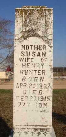 HUNTER, SUSAN - Boone County, Arkansas | SUSAN HUNTER - Arkansas Gravestone Photos