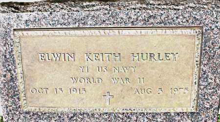 HURLEY  (VETERAN WWII), ELWIN KEITH - Boone County, Arkansas | ELWIN KEITH HURLEY  (VETERAN WWII) - Arkansas Gravestone Photos