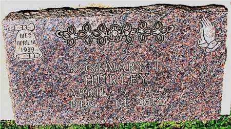 HURLEY, ROSEMARY T. - Boone County, Arkansas | ROSEMARY T. HURLEY - Arkansas Gravestone Photos