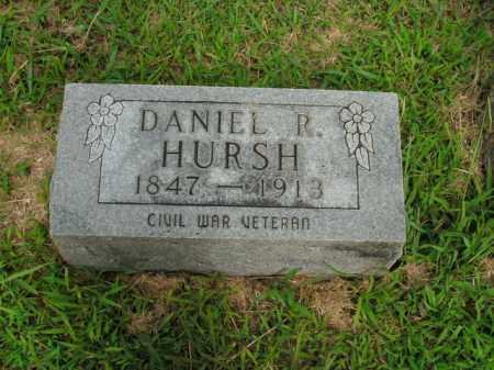 HURSH  (VETERAN UNION), DANIEL R - Boone County, Arkansas   DANIEL R HURSH  (VETERAN UNION) - Arkansas Gravestone Photos