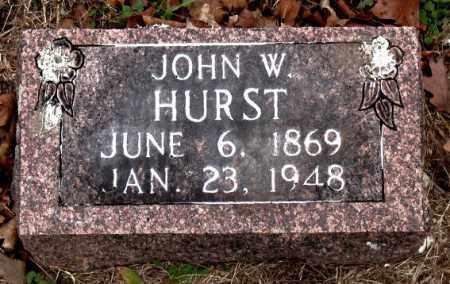 HURST, JOHN  W. - Boone County, Arkansas   JOHN  W. HURST - Arkansas Gravestone Photos