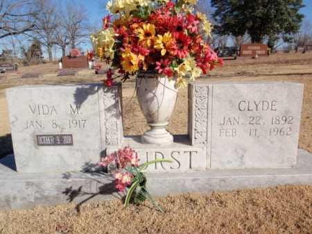 HURST, VIDA M. - Boone County, Arkansas   VIDA M. HURST - Arkansas Gravestone Photos