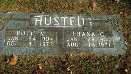 HUSTED, RUTH M. - Boone County, Arkansas | RUTH M. HUSTED - Arkansas Gravestone Photos