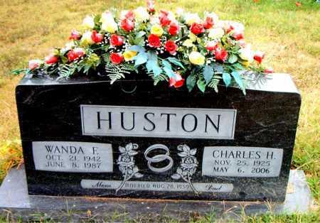 HUSTON, CHARLES  H - Boone County, Arkansas | CHARLES  H HUSTON - Arkansas Gravestone Photos