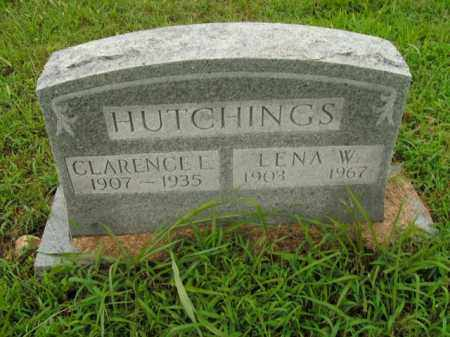 HUTCHINGS, LENA W. - Boone County, Arkansas | LENA W. HUTCHINGS - Arkansas Gravestone Photos