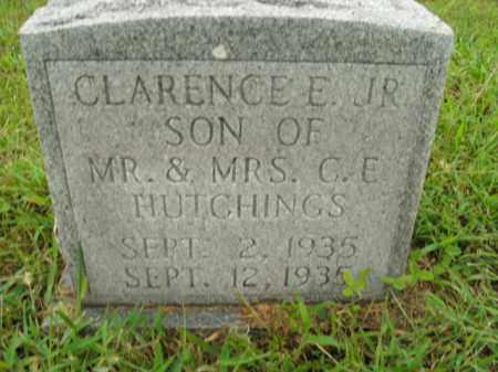 HUTCHINGS, CLARENCE E. JR. - Boone County, Arkansas   CLARENCE E. JR. HUTCHINGS - Arkansas Gravestone Photos