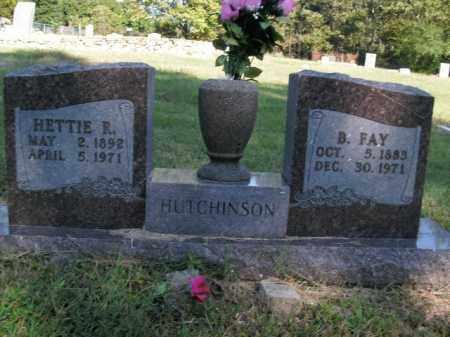HUTCHINSON, HETTIE R. - Boone County, Arkansas | HETTIE R. HUTCHINSON - Arkansas Gravestone Photos