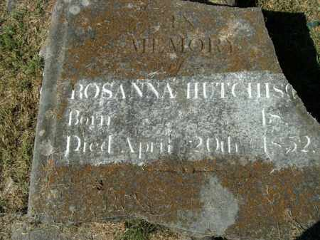 HUTCHISON, ROSANNA - Boone County, Arkansas | ROSANNA HUTCHISON - Arkansas Gravestone Photos
