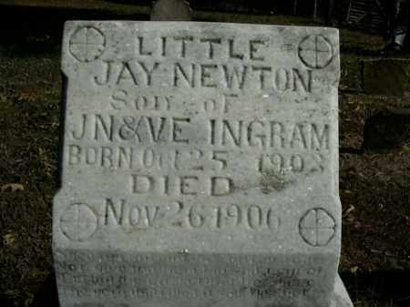 INGRAM, JAY NEWTON - Boone County, Arkansas | JAY NEWTON INGRAM - Arkansas Gravestone Photos