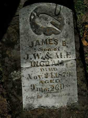 INGRAM, JAMES B. - Boone County, Arkansas   JAMES B. INGRAM - Arkansas Gravestone Photos