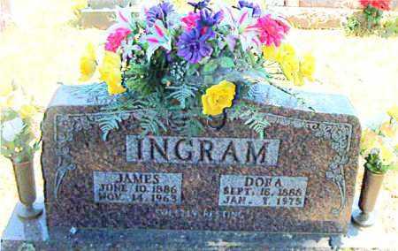 INGRAM, JAMES P - Boone County, Arkansas   JAMES P INGRAM - Arkansas Gravestone Photos
