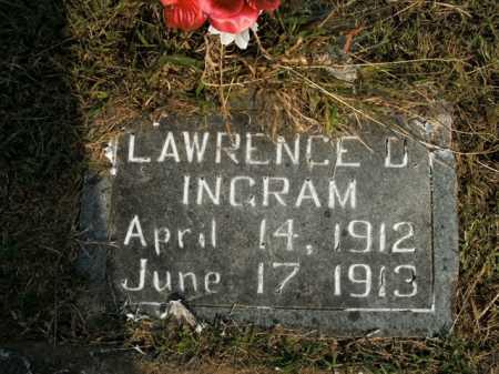 INGRAM, LAWRENCE D. - Boone County, Arkansas | LAWRENCE D. INGRAM - Arkansas Gravestone Photos
