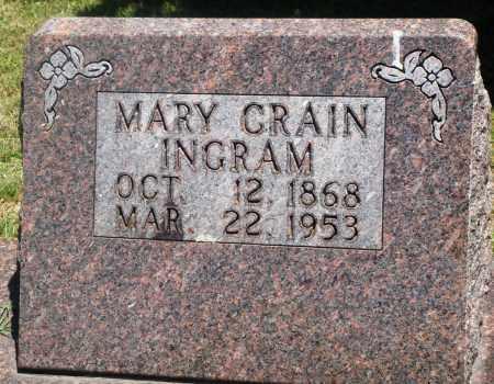INGRAM, MARY - Boone County, Arkansas | MARY INGRAM - Arkansas Gravestone Photos