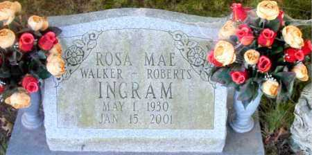 WALKER--ROBERTS INGRAM, ROSA  MAE - Boone County, Arkansas | ROSA  MAE WALKER--ROBERTS INGRAM - Arkansas Gravestone Photos