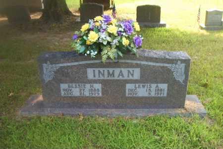 INMAN, BESSIE H - Boone County, Arkansas | BESSIE H INMAN - Arkansas Gravestone Photos