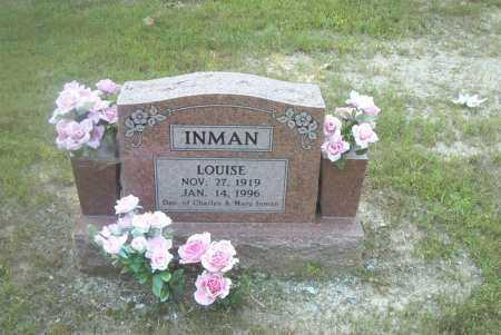 INMAN, LOUISE - Boone County, Arkansas | LOUISE INMAN - Arkansas Gravestone Photos