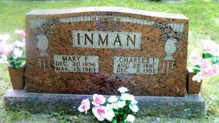 INMAN, MARY FRANCES - Boone County, Arkansas | MARY FRANCES INMAN - Arkansas Gravestone Photos