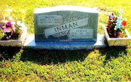 INMAN, FLOYD - Boone County, Arkansas | FLOYD INMAN - Arkansas Gravestone Photos