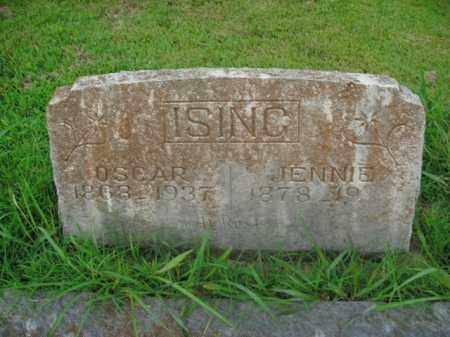 ISING, VIRGINIA BLANCH - Boone County, Arkansas | VIRGINIA BLANCH ISING - Arkansas Gravestone Photos