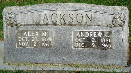 JACKSON, ALEX M - Boone County, Arkansas | ALEX M JACKSON - Arkansas Gravestone Photos
