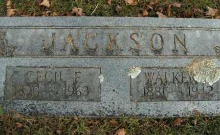 JACKSON, WALKER E. - Boone County, Arkansas   WALKER E. JACKSON - Arkansas Gravestone Photos