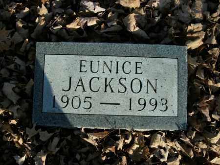 JACKSON, EUNICE - Boone County, Arkansas   EUNICE JACKSON - Arkansas Gravestone Photos