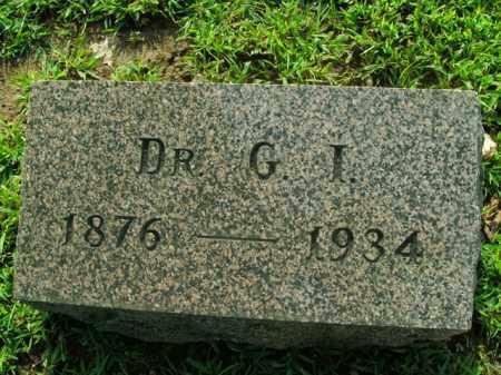JACKSON, GEORGE IRA (DOCTOR) - Boone County, Arkansas | GEORGE IRA (DOCTOR) JACKSON - Arkansas Gravestone Photos