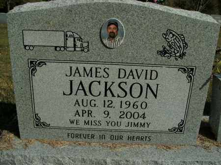 JACKSON, JAMES DAVID - Boone County, Arkansas | JAMES DAVID JACKSON - Arkansas Gravestone Photos