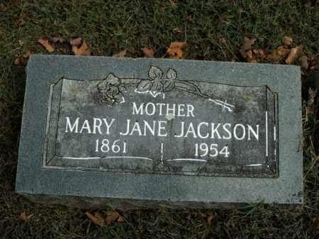 JACKSON, MARY JANE - Boone County, Arkansas | MARY JANE JACKSON - Arkansas Gravestone Photos