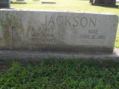 JACKSON, MAE - Boone County, Arkansas | MAE JACKSON - Arkansas Gravestone Photos