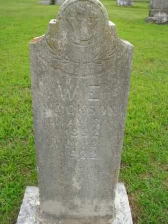 JACKSON, W. E. - Boone County, Arkansas   W. E. JACKSON - Arkansas Gravestone Photos