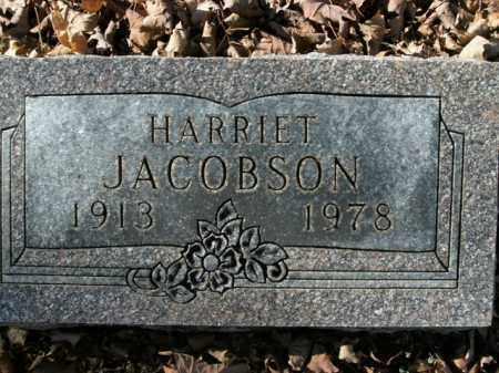 JACOBSON, HARRIET - Boone County, Arkansas | HARRIET JACOBSON - Arkansas Gravestone Photos