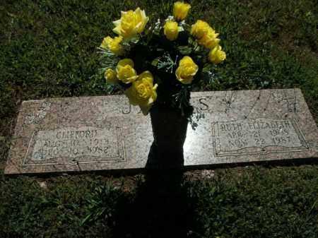 JAMES, RUTH ELIZABETH - Boone County, Arkansas | RUTH ELIZABETH JAMES - Arkansas Gravestone Photos