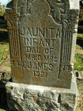 JAMES, JAUNITA - Boone County, Arkansas | JAUNITA JAMES - Arkansas Gravestone Photos