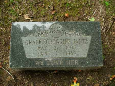 SCROGGINS JANTZ, GRACE - Boone County, Arkansas | GRACE SCROGGINS JANTZ - Arkansas Gravestone Photos