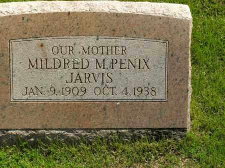 PENIX JARVIS, MILDRED M. - Boone County, Arkansas | MILDRED M. PENIX JARVIS - Arkansas Gravestone Photos