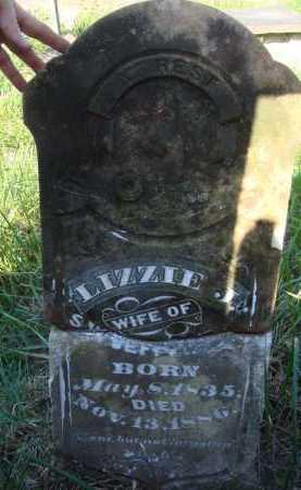 JEFFERSON, LIZZIE J. - Boone County, Arkansas   LIZZIE J. JEFFERSON - Arkansas Gravestone Photos